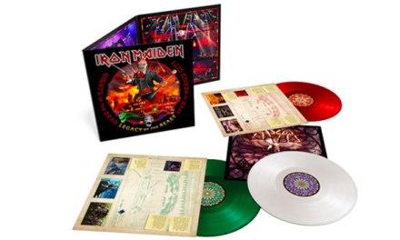 Iron Maiden announces new double live album