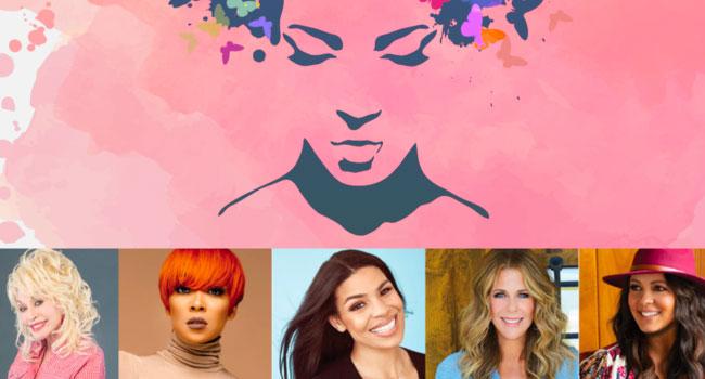 Dolly Parton, Monica, Jordin Sparks, Sara Evans and Rita Wilson - PINK