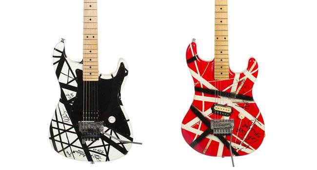 Two Eddie Van Halen guitars set for Julien's Auctions