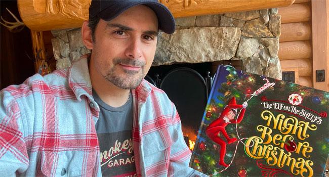 Brad Paisley joins Elf on the Shelf virtual reading