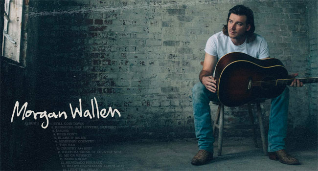 Morgan Wallen demolishes first day streaming records with 'Dangerous'