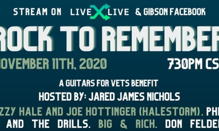 Gibson Gives & Guitars For Vets announce 'Rock to Remember' virtual concert