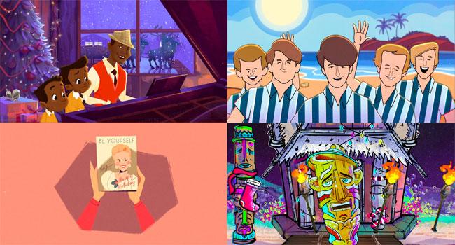 The Beach Boys, Bing Crosby among new animated Christmas videos