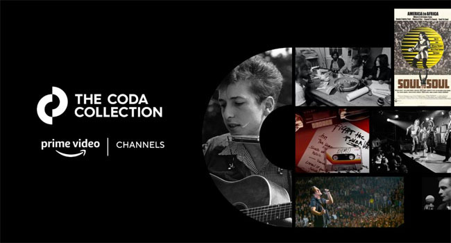 New music channel launches on Amazon Prime Video