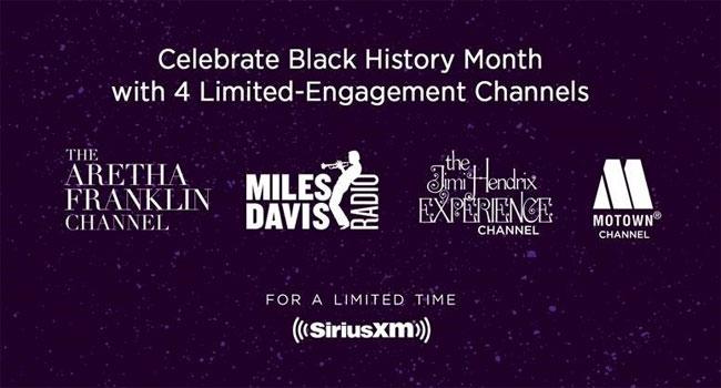 SiriusXM adds Aretha Franklin, Jimi Hendrix, Motown channels