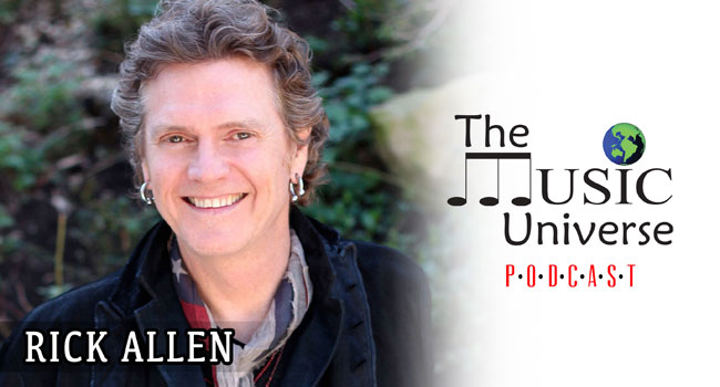 Def Leppard's Rick Allen on The Music Universe Podcast