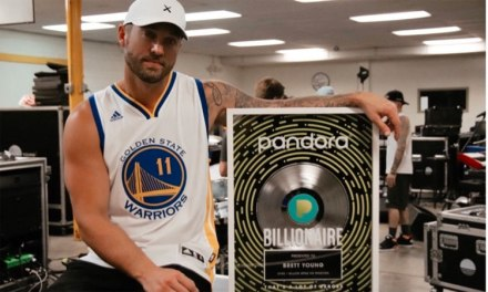 Brett Young joins Pandora's Billionaire Club