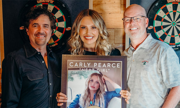 Carly Pearce Next Girl Gold