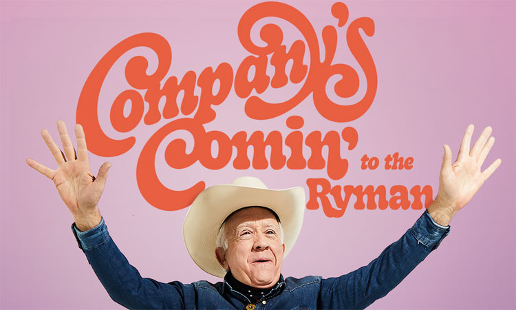 Leslie Jordan and Friends: Company's Comin' to the Ryman