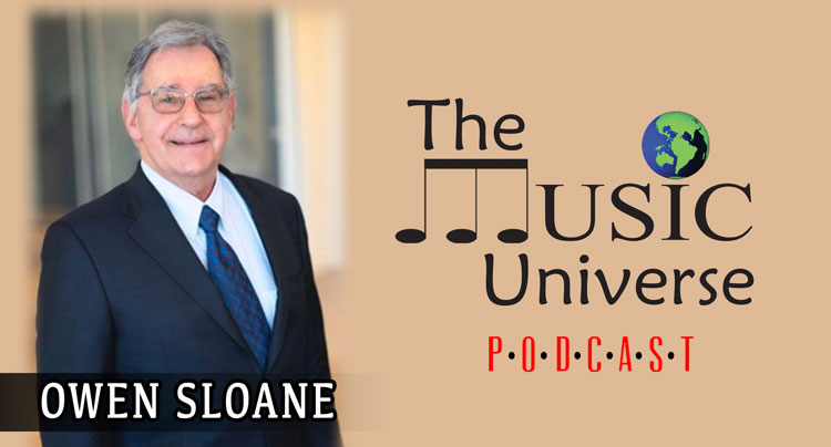 Owen Sloane on The Music Universe Podcast
