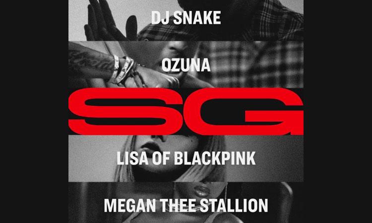DJ Snake with Ozuna, Megan Thee Stallion & Lisa of BLACKPINK