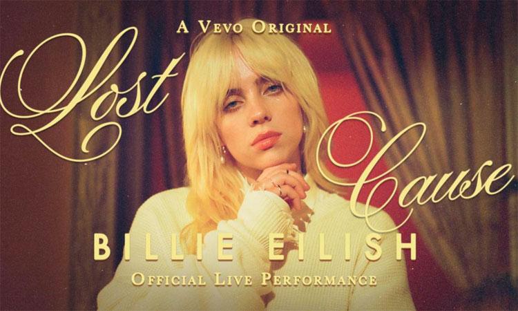 Billie Eilish - Lost Cause VEVO performance