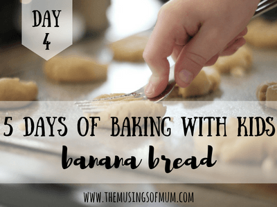 Simply Tasty Banana Bread For Little Bakers