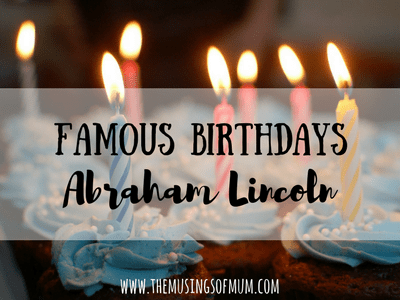 Abraham Lincoln: The Great Emancipator   The Musings of Mum