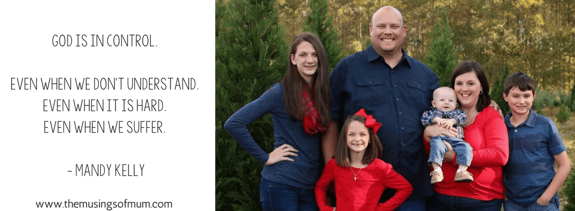 God Is In Control - A Tribute to Mandy Kelly