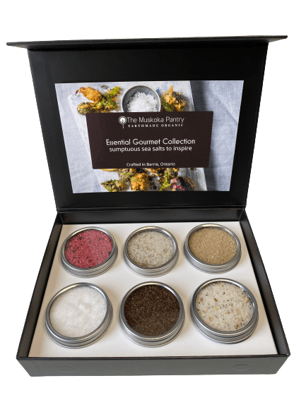 Essential Gourmet Sea Salt Collection