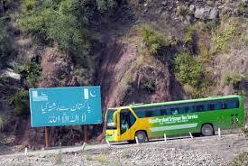 Karvan-e-Aman bus leaves for Kaman Post to cross over to PaK