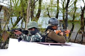 Gunfight breaks out in north Kashmir's Handwara