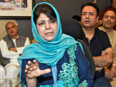 Tampering with Art 35A would nullify JK's accession to Union: Mehbooba