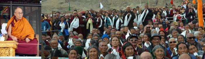 Dalai Lama bats for dialogue, reconciliation to end discords