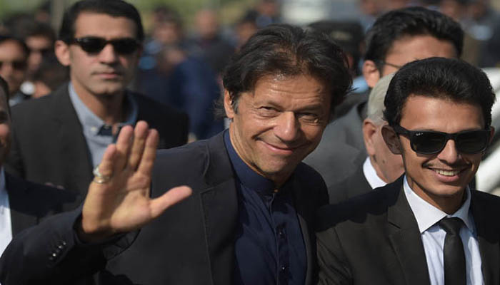 Imran Khan appears before NAB in helicopter case