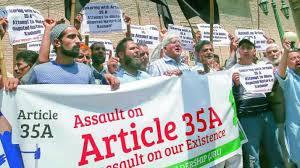 Supreme Court adjourns hearing on Art 35A till Jan 2019