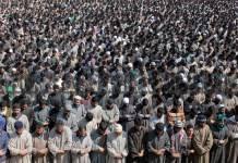 Thousands flock funeral prayers of slain militants in Shopian villages