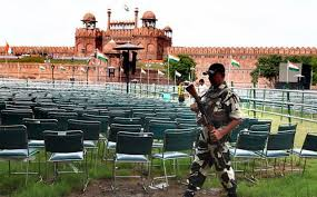 Heavy security cover in Delhi for I-Day