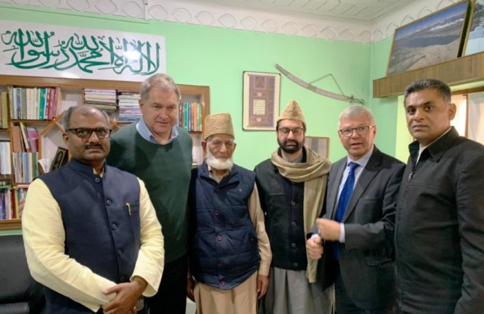JRL holds meeting with former Prime Minster of Norway at Hyderpora