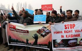 On JRL call Kashmir transporters hold protests against 'human rights violations'