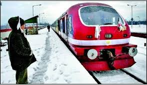 Train services resume in north Kashmir