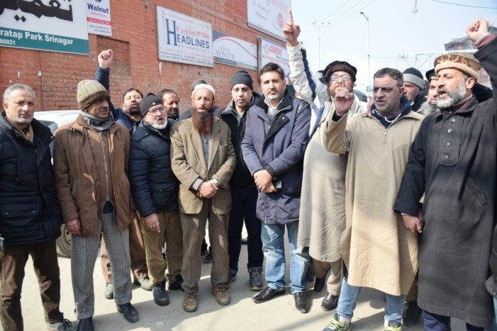 Traders Association calls for valley wide shutdown tomorrow against attacks on Kashmiris