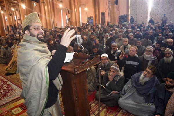Mirwaiz appeals people to help each other
