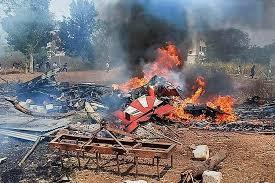 Two Suryakiran jets crash during rehearsal in Bengaluru
