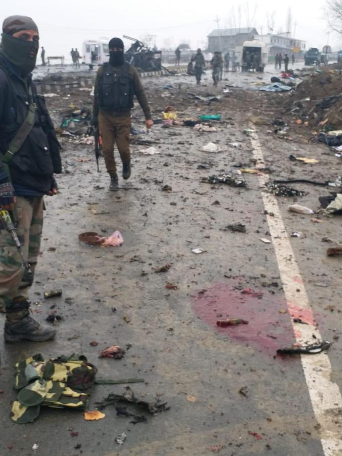 Toll Rises to 27 in Suicide Bomber Rams Car Into CRPF Convoy in J&K's Pulwama; Biggest Attack in 20 Years
