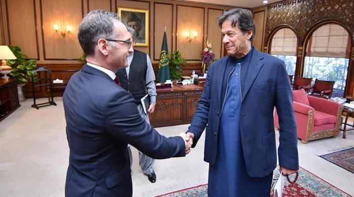 PM Imran, German FM discuss Pak-India tension