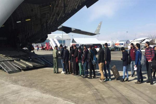 514 stranded passengers of Kargil airlifted