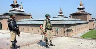 Authorities disallow Friday prayers at historic Jamia Masjid Srinagar