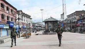 LS Polls:  Strike disrupts life in Kashmir