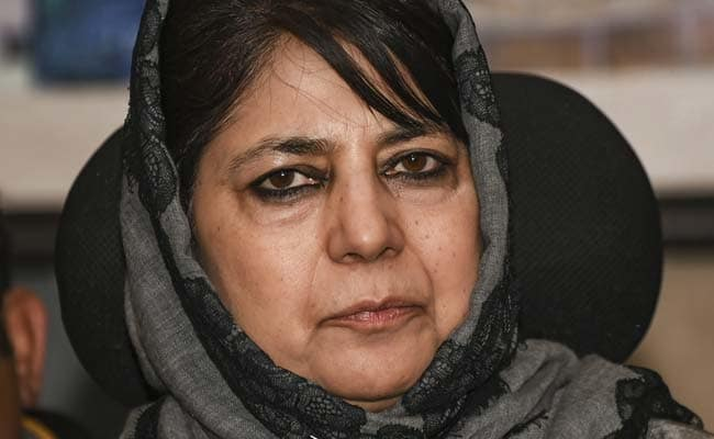 """Paramilitary Soldiers Forced People To Vote For BJP"": Mehbooba Mufti"