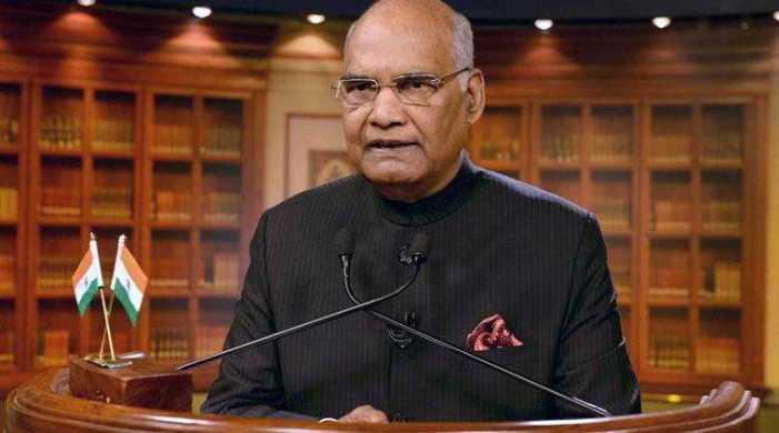 Govt making efforts to ensure safe environment in JK: Kovind