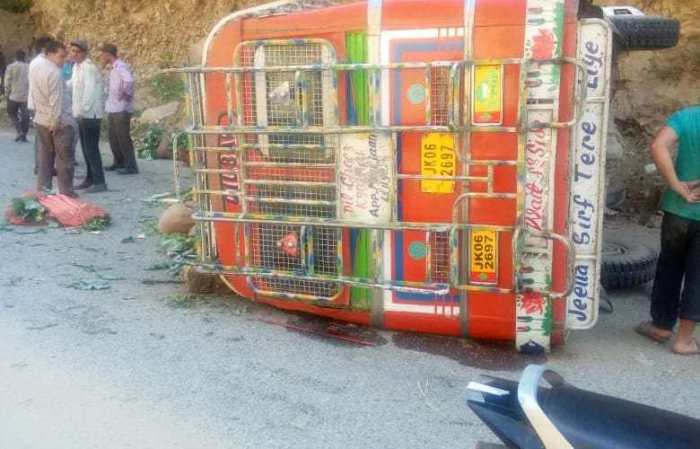 Dozens  injured in  Kishtwar road accident