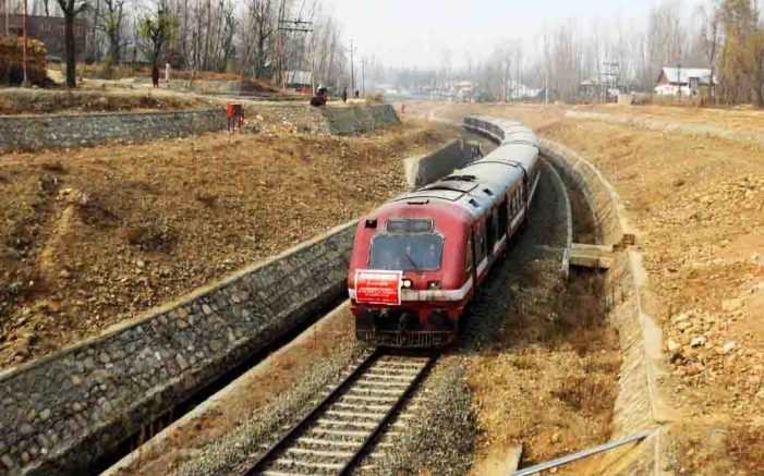 Train crushes woman to death in south Kashmir's Qazigund