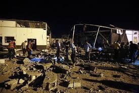 Airstrike kills 40 migrants in Tripoli: Libyan officials