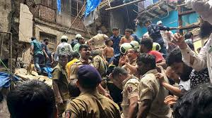 12 killed, over 40 feared trapped as Mumbai building collapses