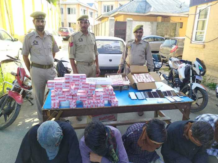 Five burglars arrested in central Kashmir's Budgam, stolen property worth lacs recovered: Police