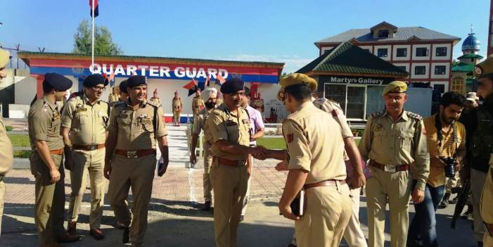 DGP visits Ganderbal, reviews security scenario