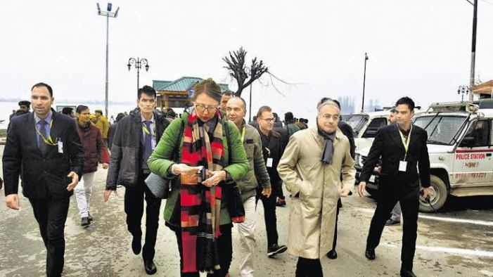 """""""Important To Lift Restrictions Swiftly"""": EU Spokesperson After Kashmir Visit"""