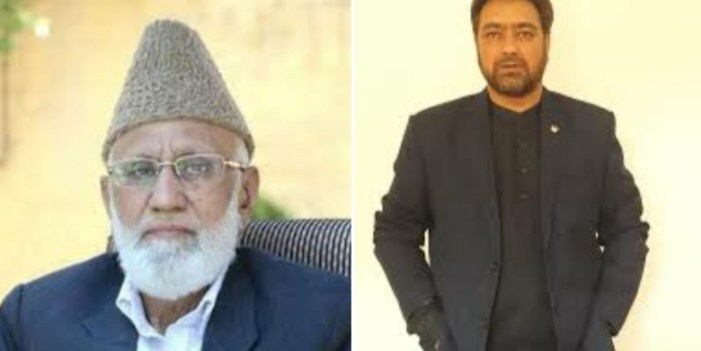 PDP leader Nazir Itoo visits Sehrai's residence, condoles the demise of his son