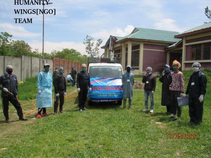 Fumigation, sanitation drive held in D.H Pora